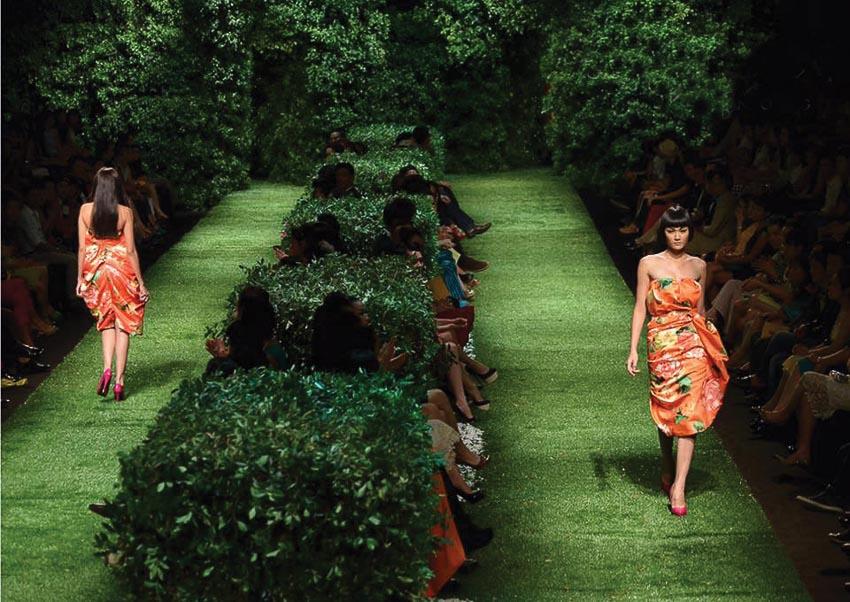 Xuân-Hè 2013: Le Jardin - Khu vườn yên tĩnh