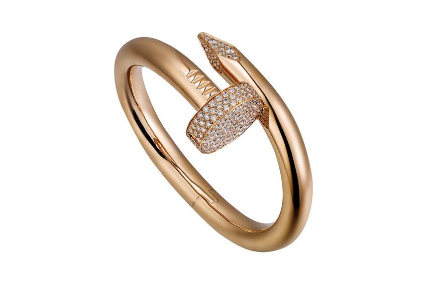 Bộ đôi vòng tay dây chuyền của Cartier dành cho cặp đôi
