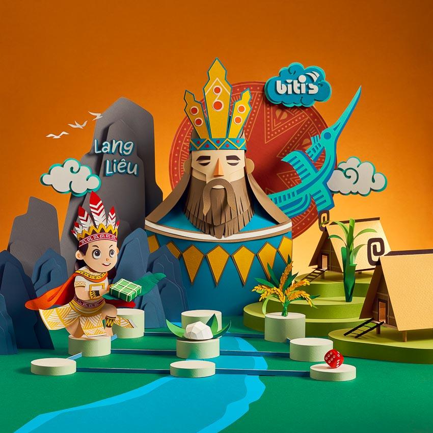 """Bộ trò chơi """"Cuộc Đua Cổ Tích"""" - Bí kíp cho con thêm yêu văn hóa dân gian ngày Tết 5"""