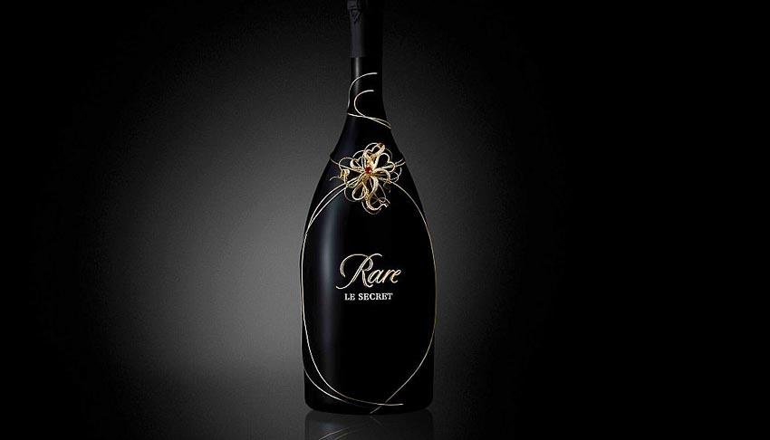 Rare Champagne ra mắt sâm-banh Rare Le Secret High Jewellery đính đá quý 2