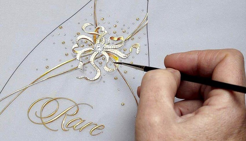 Rare Champagne ra mắt sâm-banh Rare Le Secret High Jewellery đính đá quý 6