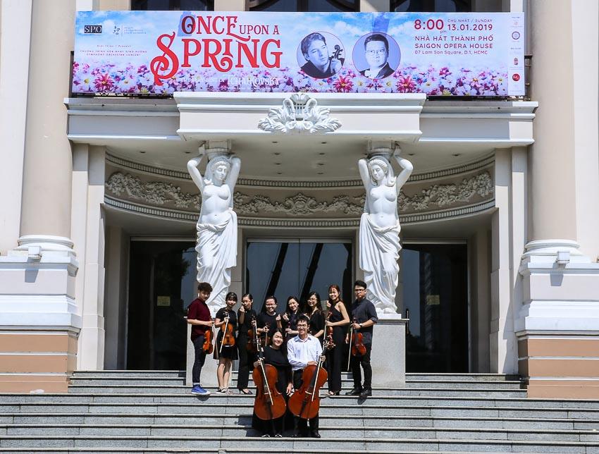 Ra mắt Dàn nhạc Giao hưởng Trẻ Sài Gòn SPYO 4