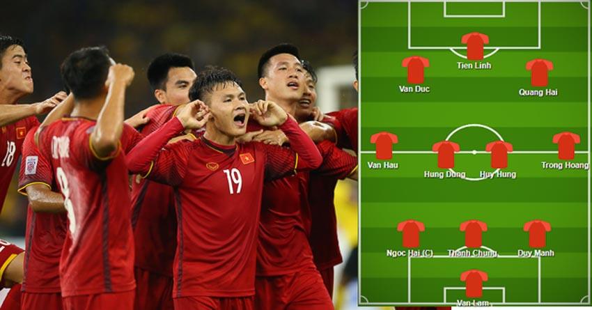Fox Sport dự đoán đội hình của đội tuyển Việt Nam ở Asian Cup 2019 2