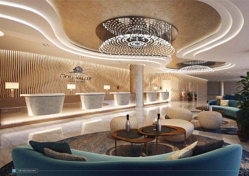 Nội thất khách sạn Golf Valley – Cảm hứng thiên nhiên giữa lòng Đà Lạt – TP HCM