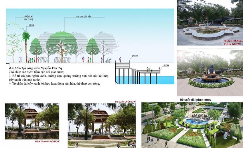 Thiết kế đô thị mẫu (riêng) khu vực cảnh quan bên bờ sông Đồng Nai – TP Biên Hòa, Tỉnh Đồng Nai