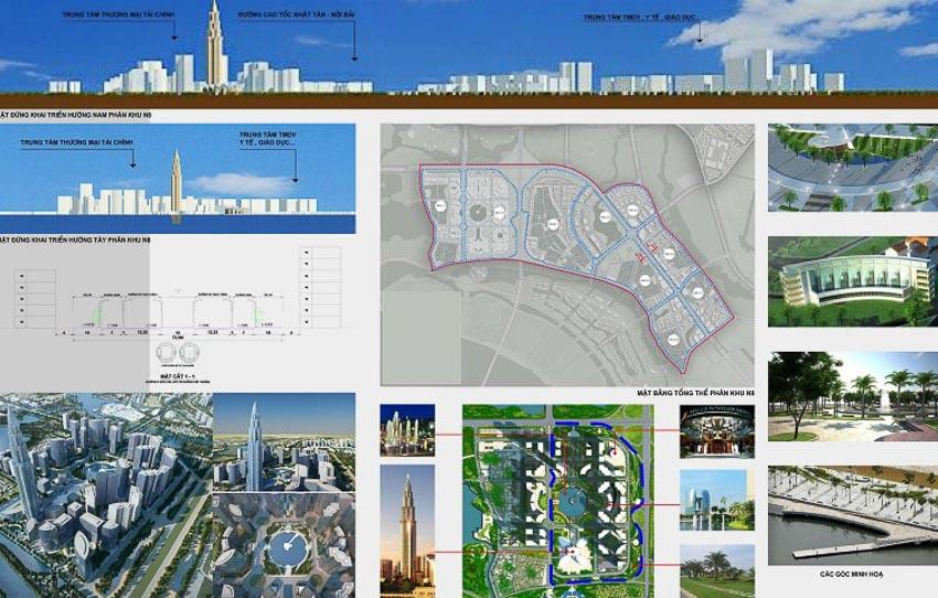 Quy hoạch phân khu đô thị N8 tỷ lệ 1/5000 – Đông Anh, Hà Nội