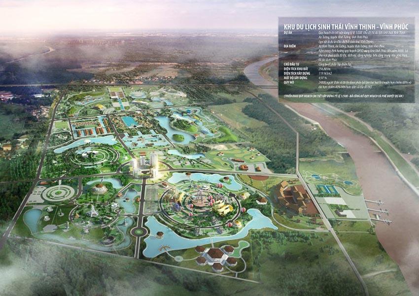 QHCT xây dựng khu đô thị du lịch sinh thái Vĩnh Thịnh, An Tường, huyện Vĩnh Tường, tỉnh Vĩnh Phúc – Phú Yên, Khánh Hòa