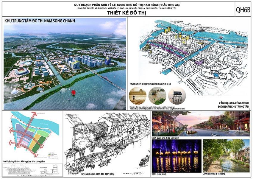 Quy hoạch phân khu đô thị Nam Hòa (phân khu A6) tỷ lệ 1/2000 – xã Quảng Yên, tỉnh Quảng Ninh