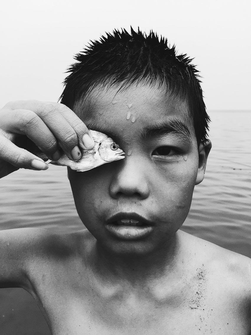 """""""Eye to eye"""" – Tác giả: Huapeng Zhao / chụp bằng Iphone 6"""