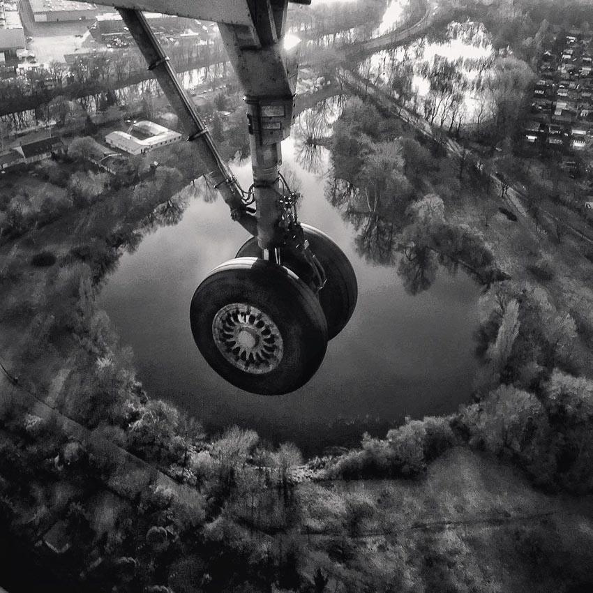 """Landing"" – Tác giả: Magda Lates / Chụp bằng iPhone SE"