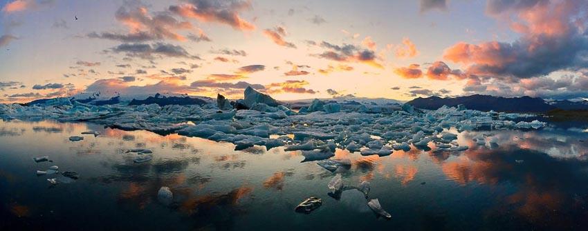 """""""Icebergs"""" – Tác giả: Mateusz Piesiak / Chụp bằng iPhone 6 Plus"""