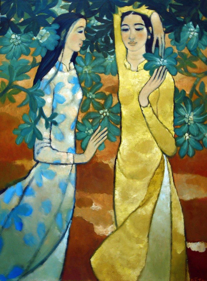 Hoa xanh - Nguyễn Trung