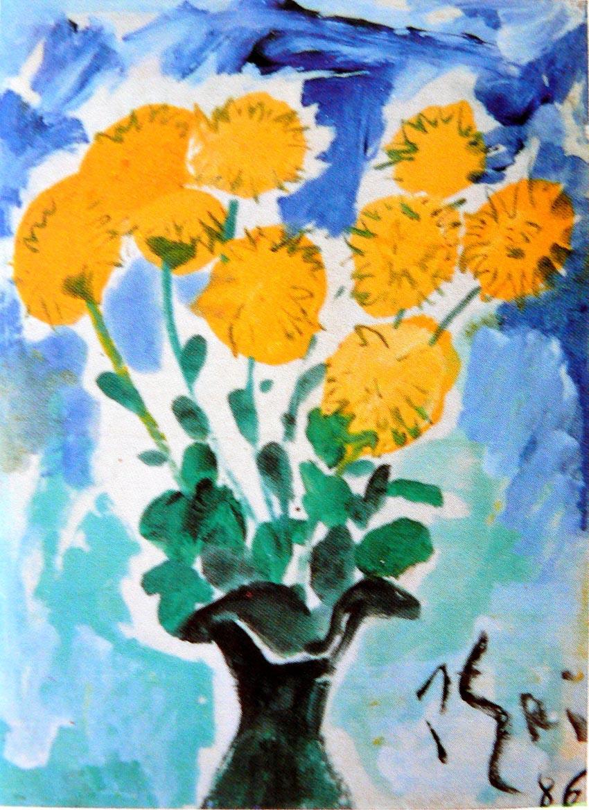 Tĩnh vật hoa - Bùi Xuân Phái