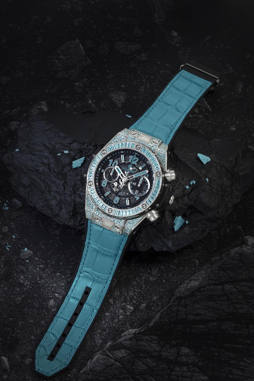 Hublot Big Bang Paraíba tỏa sáng với đá quý, hiếm hơn cả kim cương 1