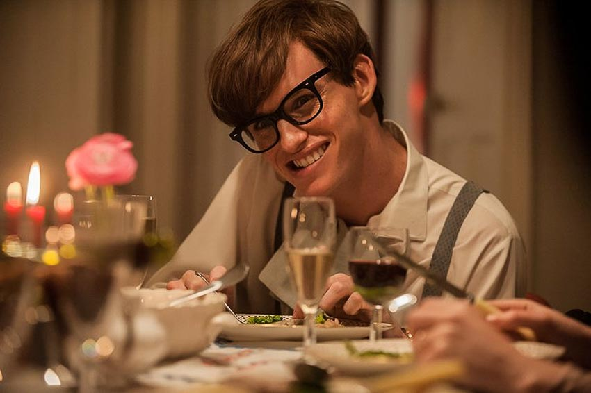 Eddie Redmayne trong The Theory of Everything