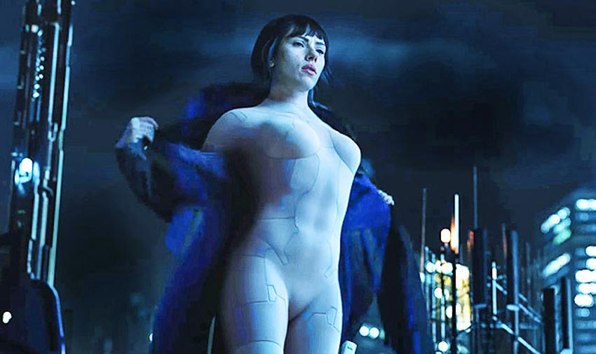 Scarlett Johansson trong Ghost In The Shell