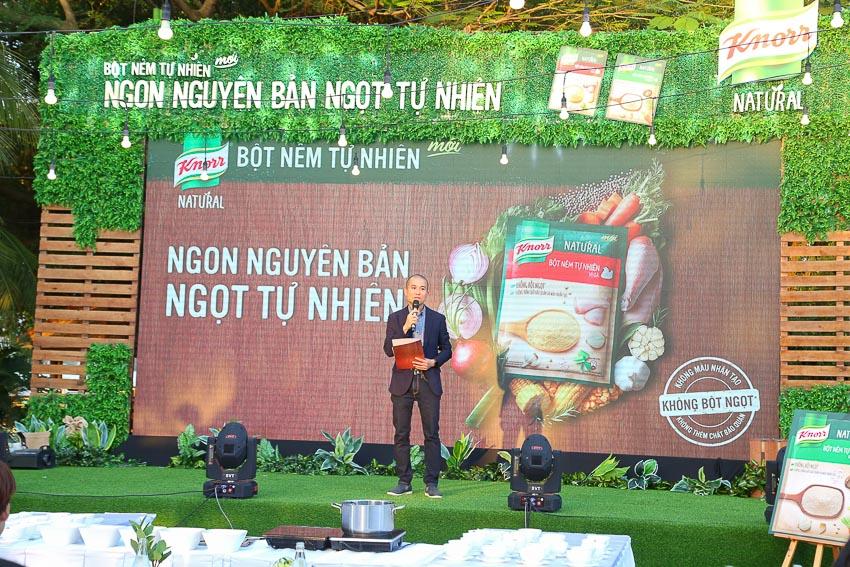 Knorr ra mắt bột nêm tự nhiên Knorr Natural 4