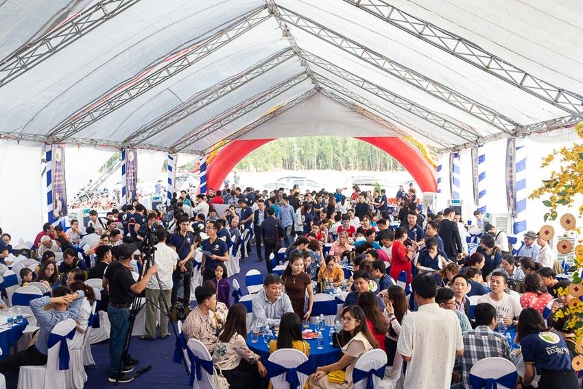 Hơn 200 khách hàng tham dự lễ giới thiệu dự án Ecotown Phú Mỹ 2