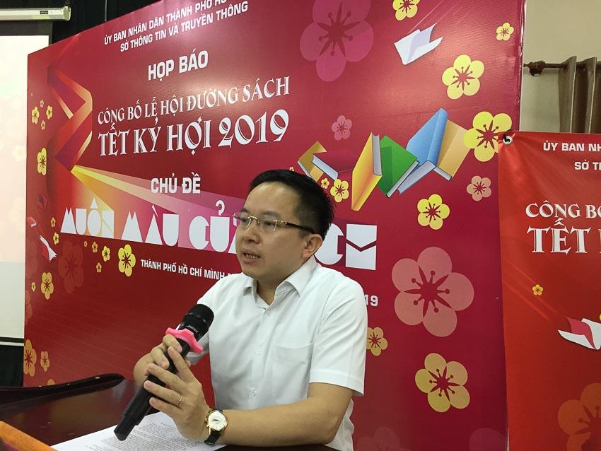 Ông Từ Lương (Phó Giám Đốc Sở Thông tin và Truyền thông TP.HCM)