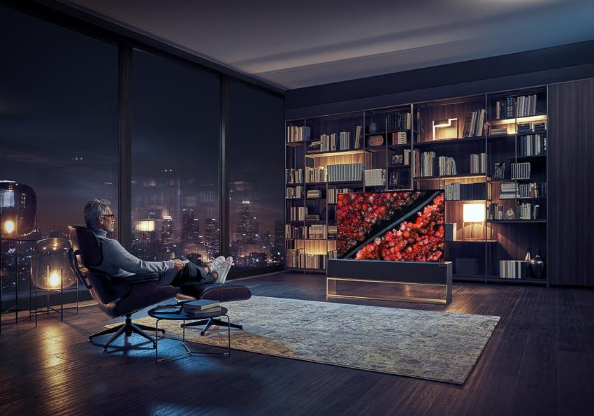 LG ra mắt TV OLED 8K88 inch và TV OLED cuộn đầu tiên trên thế giới 1