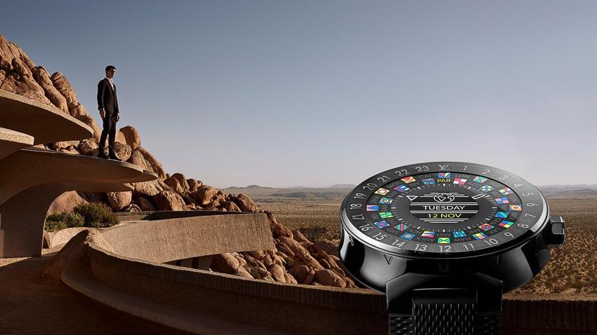 Louis Vuitton nâng cấp đồng hồ thông minh với chip Qualcomm Wear 3100 2