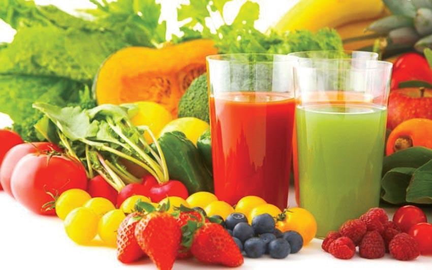 Trái cây, rau, củ, quả