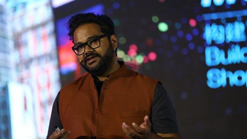 Ambarish Mitra, người sáng lập Blippar. Ảnh: Blippar.