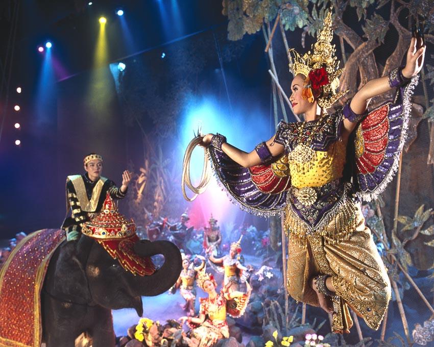 Một chương trình biểu diễn ở Phuket Fantasea
