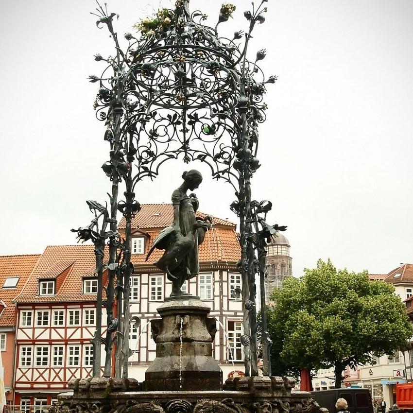 Bức Tượng đài Liesel - biểu tượng của Gottingen