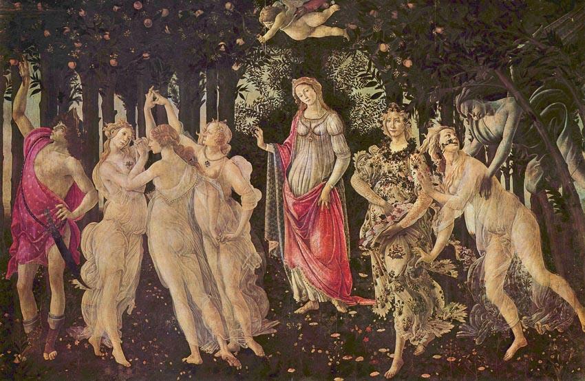 Mùa Xuân - Sandro Botticelli