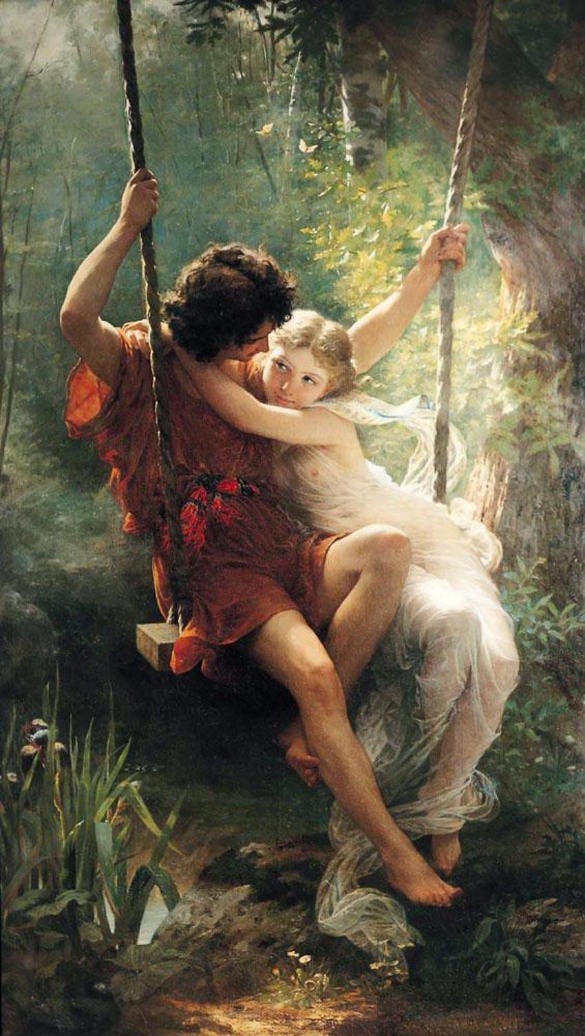 Mùa Xuân - Pierre Auguste Cot