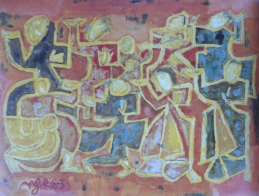 Múa cổ - Nguyễn Tư Nghiêm