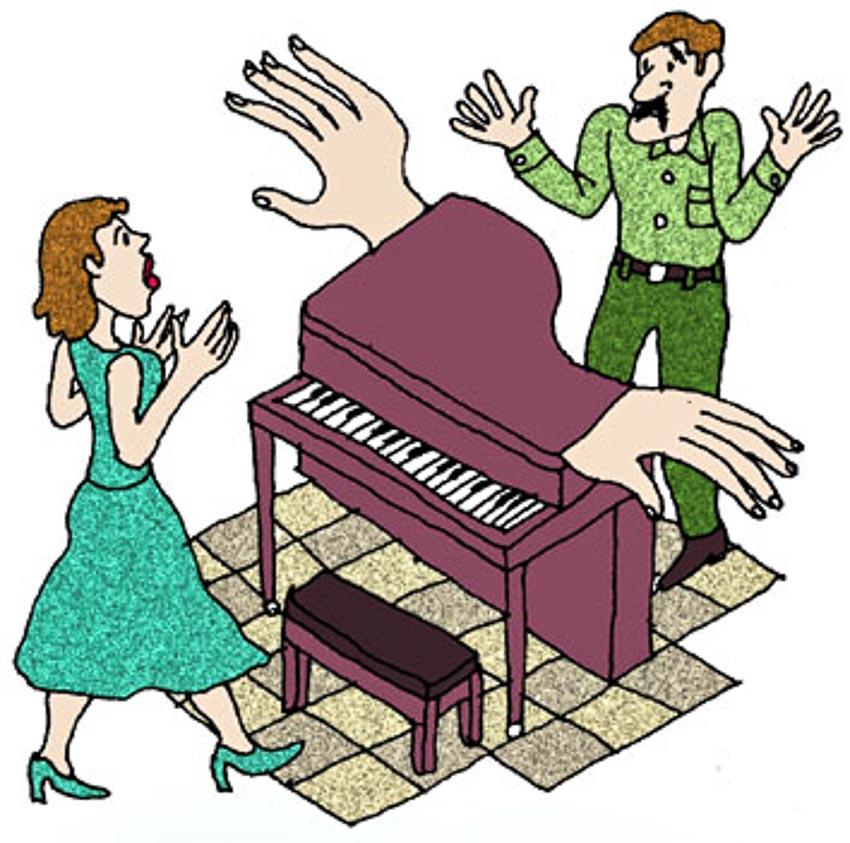 Chỉ tội cái dương cầm!