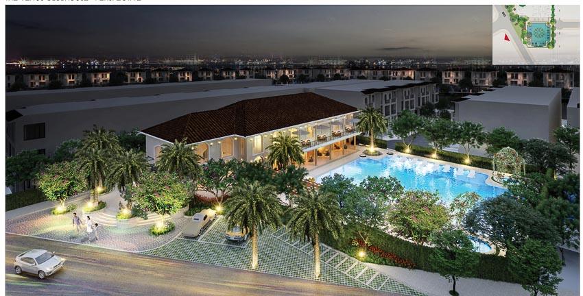 Phong cách kiến trúc Địa Trung Hải tại Senturia Nam Sai Gon