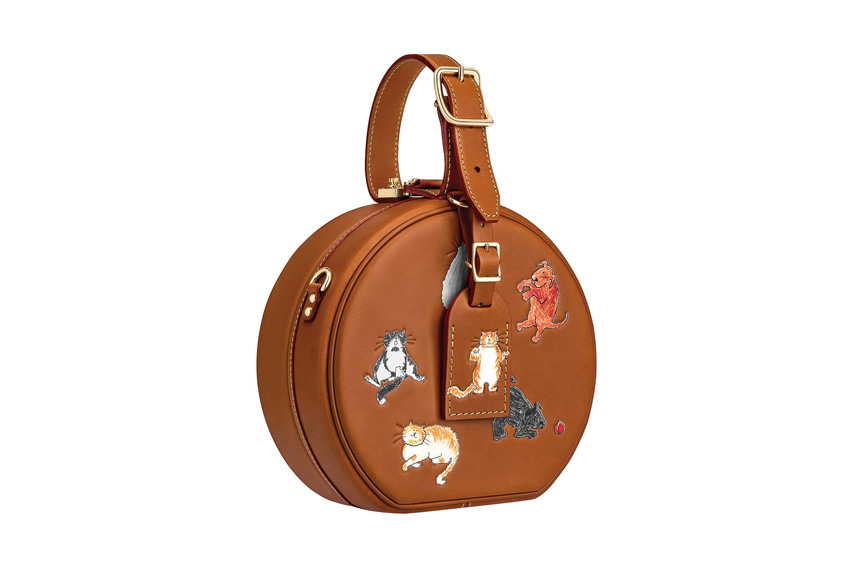 Chiếc túi Louis Vuitton dáng tròn với các họa tiết động vật vui nhộn