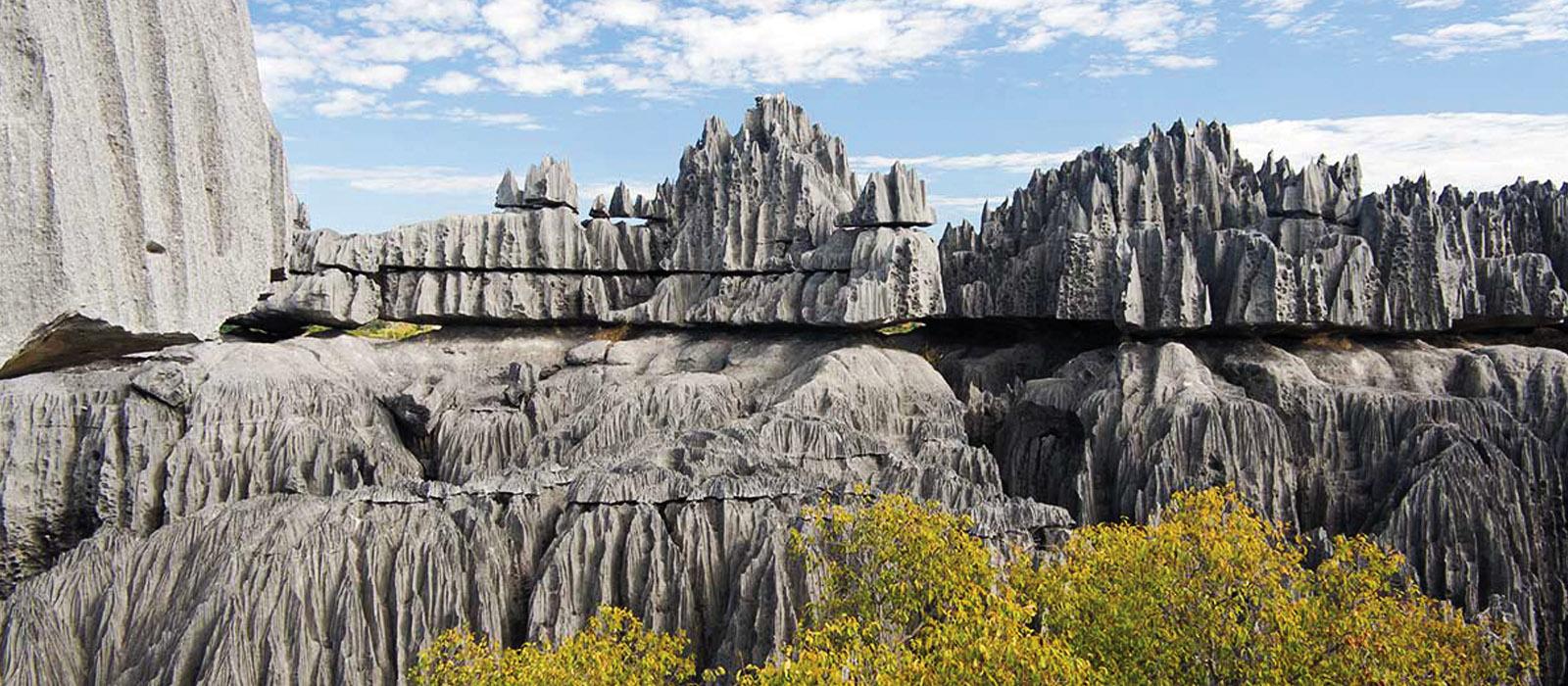 Khung cảnh ấn tượng của rừng đá 2