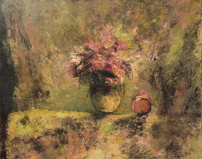 Tĩnh vật - tranh sơn dầu