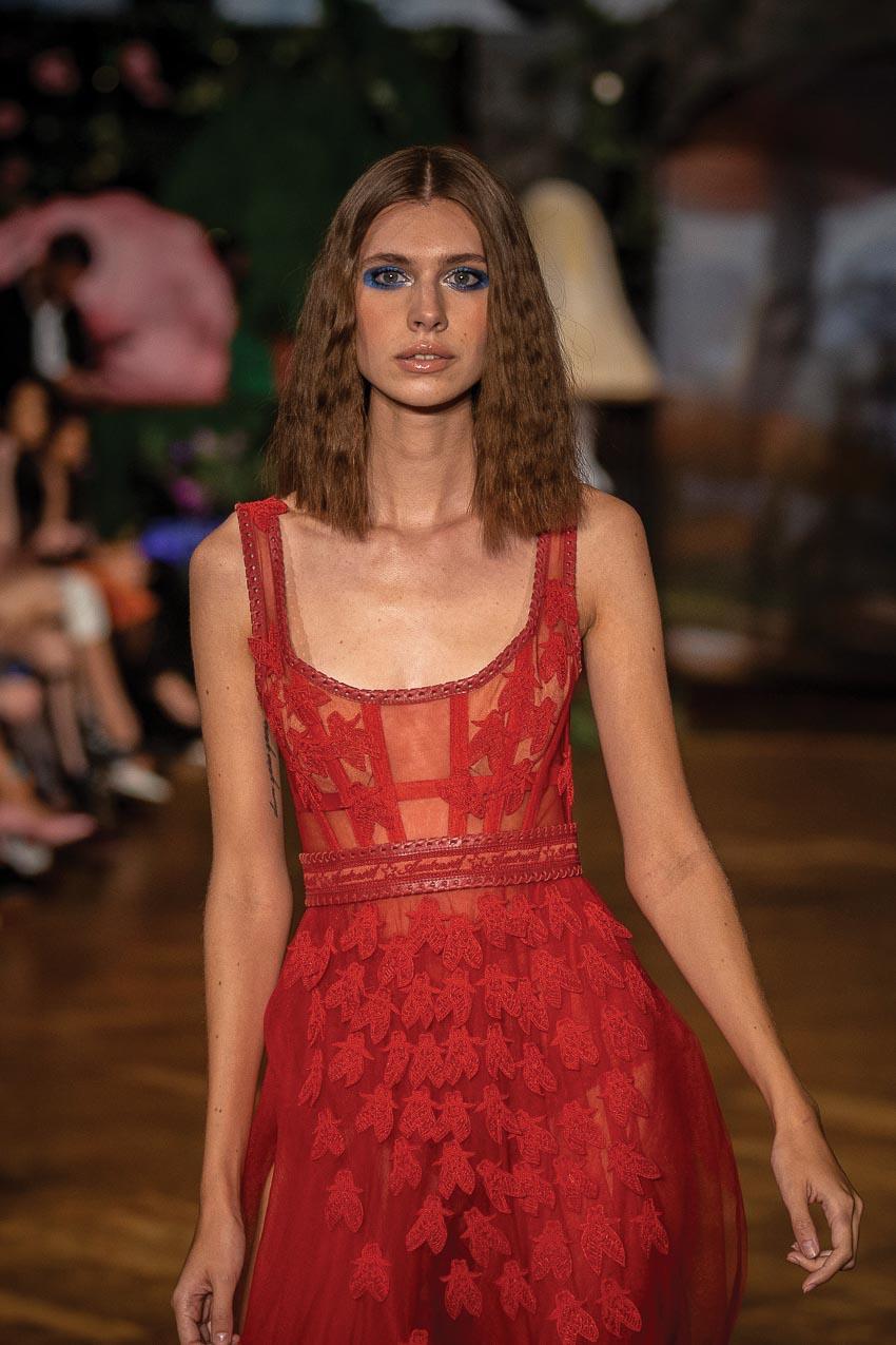 Những mẫu tóc đẹp lấy cảm hứng từ hai tuần lễ thời trang New York và London 6