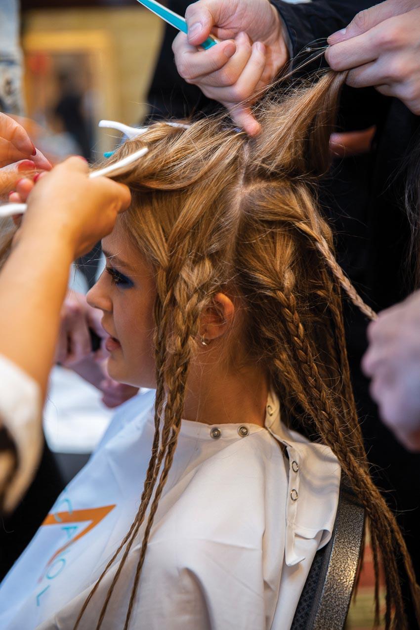 Những mẫu tóc đẹp lấy cảm hứng từ hai tuần lễ thời trang New York và London 2