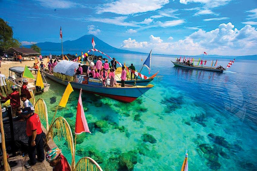 Lễ hội của ngư dân vùng biển Moluccas