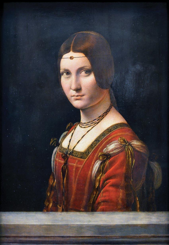 Người đàn bà buôn đồ sắt - một kiệt tác của Leonardo da Vinci tại Louvre