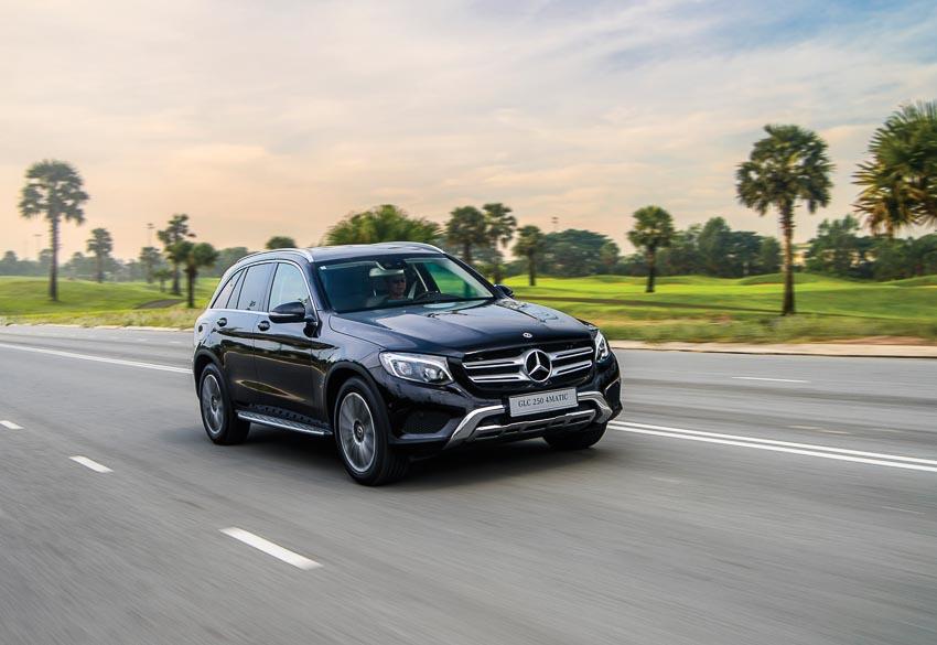 Mercedes-Benz GLC là mẫu xe sang bán chạy nhất Việt Nam trong 3 năm qua