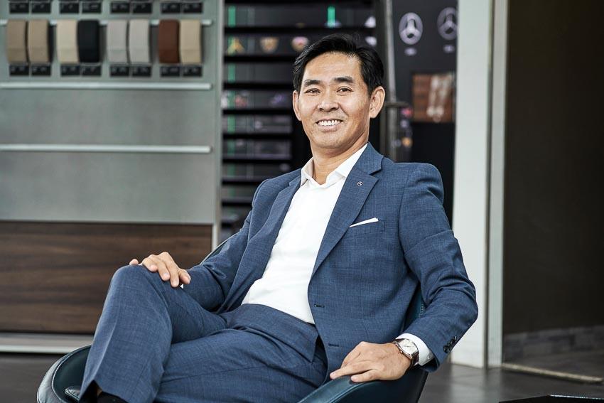 Ông Choi Duk Jun, Tổng giám đốc Mercedes-Benz Việt Nam (MBV)