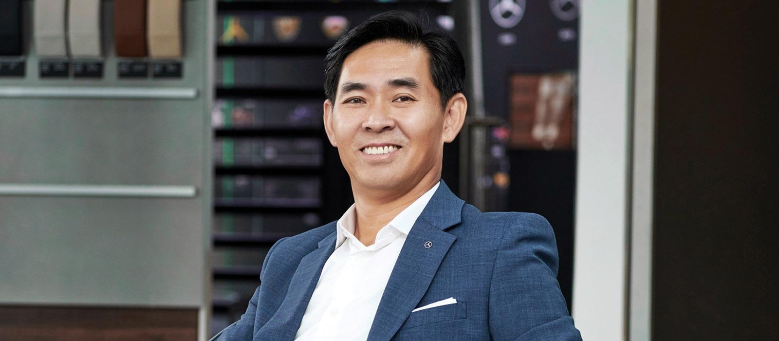 Ông Choi Duk Jun, Tổng giám đốc Mercedes-Benz Việt Nam (MBV) 1