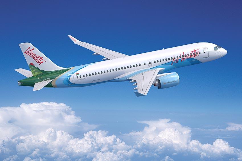 Air Vanuatu mở rộng đội bay với máy bay A220 1