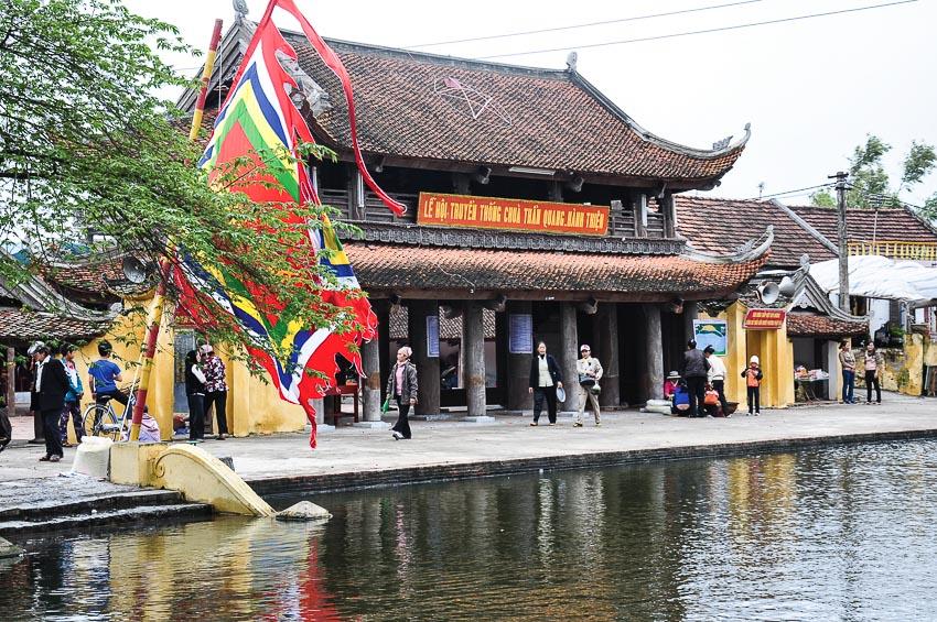 Chùa Keo cổ kính còn có tên gọi là chùa Thần Quang