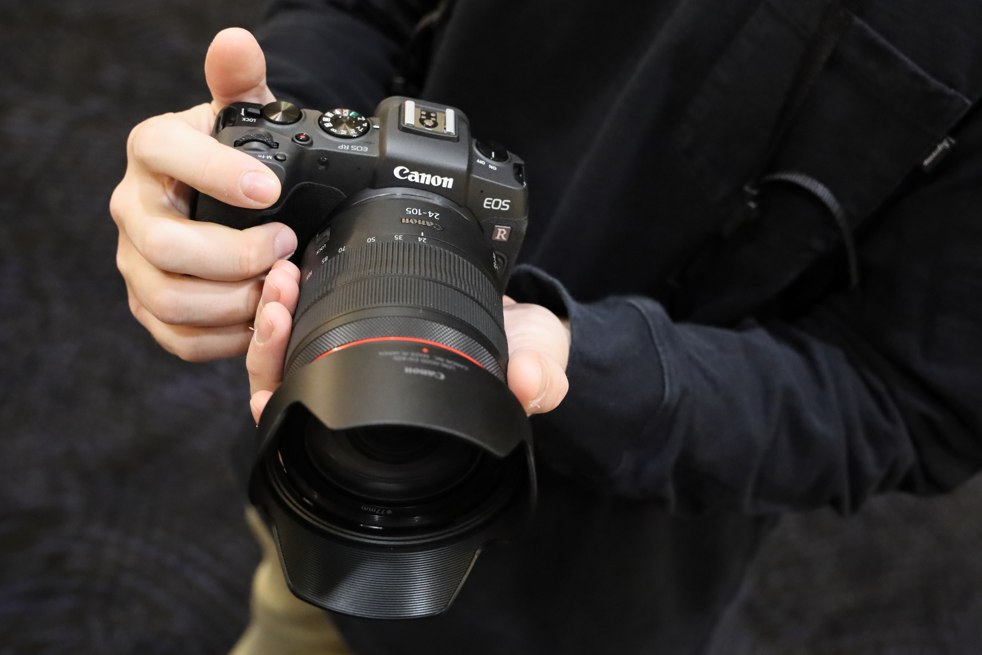 Máy ảnh Canon full-frame EOS RP siêu gọn nhẹ - 3