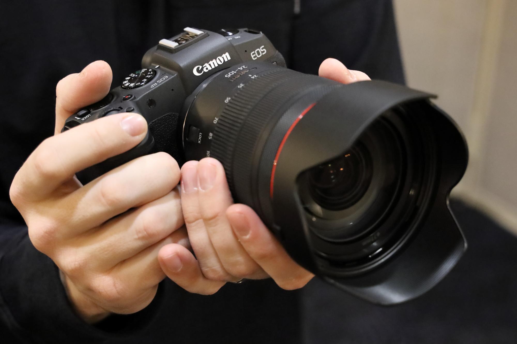 Máy ảnh Canon full-frame EOS RP siêu gọn nhẹ - 2