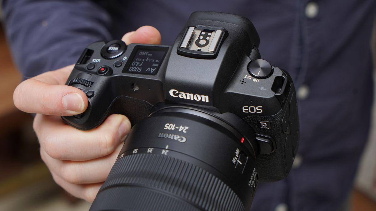 Máy ảnh Canon full-frame EOS RP siêu gọn nhẹ - 4