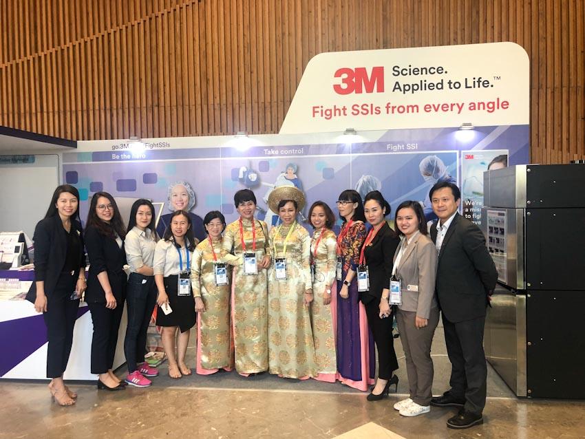 3M đồng hành cùng Hội nghị khoa học Kiểm soát nhiễm khuẩn Châu Á-Thái Bình Dương lần thứ 9 (APSIC 2019) 2